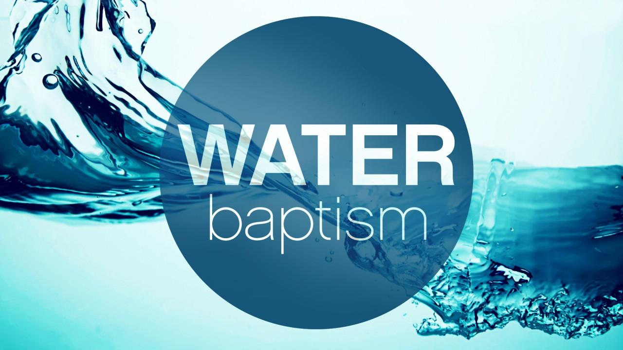 Water Baptism - Amazing Grace Christ Foundation